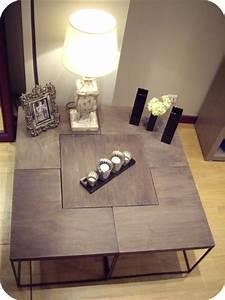 Table Basse 100x100 : variations autour de la table basse l 39 toile au plafond ~ Teatrodelosmanantiales.com Idées de Décoration