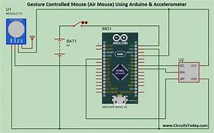 Gesture Controlled Mouse  Air Mouse  Using Arduino