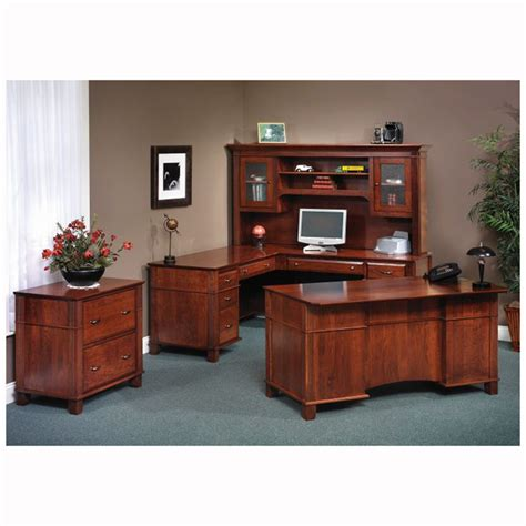 Arlington Used Office Furniture Arlington Lateral File With Hutch Home Wood Furniture