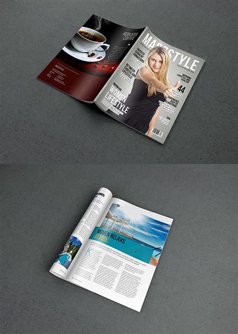 Free Magazine Mockup Free Photorealistic Magazine Mockup Psd Free Stuff