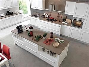 Meuble Ilot Cuisine : 45 id es en photos pour bien choisir un lot de cuisine ~ Teatrodelosmanantiales.com Idées de Décoration