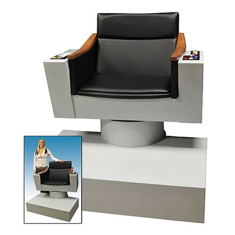 trek captains chair size trek classic captain kirk chair prop replica