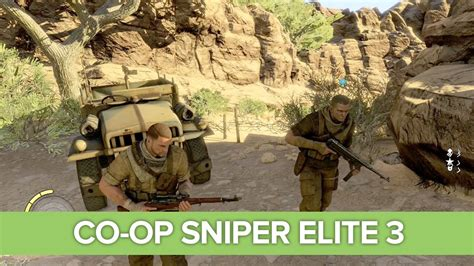 xbox one co op sniper elite 3 co op gameplay on xbox one let s play