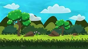Grass, Plain, Vector, Background