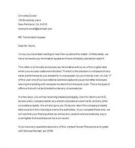 termination notices templates