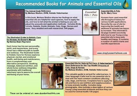 young living essential oils desk reference oil animals essential oils pinterest