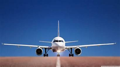Airplane Landing Wallpapers Backgrounds Freecreatives
