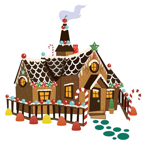 Gingerbread House Clip Gingerbread House Border Clipart All About Clipart