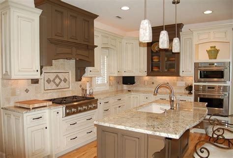 Pendant Lighting over Kitchen Island.   For the Home