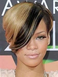 New Rihanna Blonde Short Hair | Short Hairstyles 2017 ...