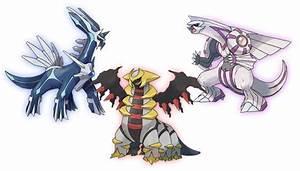 Shiny Legendary Pokemon Dialga, Palkia, and Giratina will ...