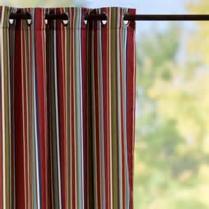 grommet top semi opaque outdoor curtain panels