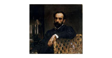 Portrait of the artist Isaak Ilyich Levitan Poster ...