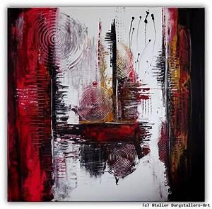 Abstrakte Kunst Kaufen : kraftraum abstrakte kunst bilder kaufen rot von atelier burgstallers art at ~ Watch28wear.com Haus und Dekorationen
