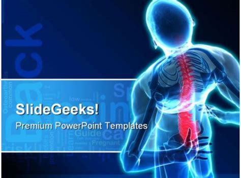 pain medical powerpoint template  powerpoint