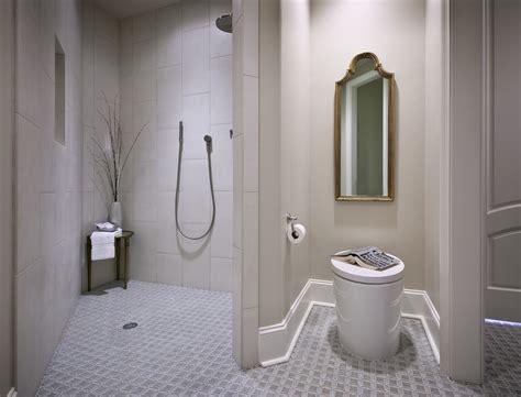 bathroom and shower designs doorless walk in shower small bathroom studio design