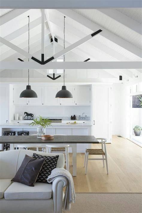 vaulted ceiling lighting solutions best 25 exposed trusses ideas on pole barn