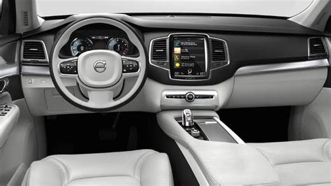 volvo xc  dimensions boot space  interior