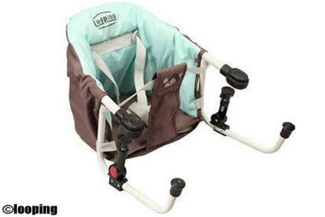 siege pour bebe pour manger matériel pour voyager avec bébé