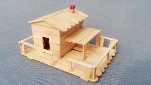 diy patterns  designs    popsicle stick house guide patterns