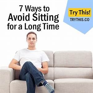 The Health Risks of Sitting All Day - Health Tips - Try This!