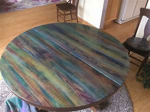#unicorn spit and epoxy on my DR table | Unicorn Spit ...