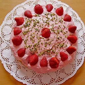Torte Mit Frischkäse : erdbeer frischk se torte rezept mit bild von heiki ~ Lizthompson.info Haus und Dekorationen