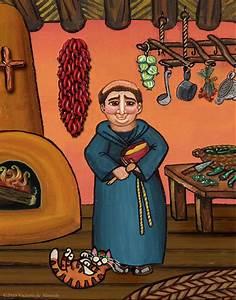 San Pascual And Vigas Painting by Victoria De Almeida