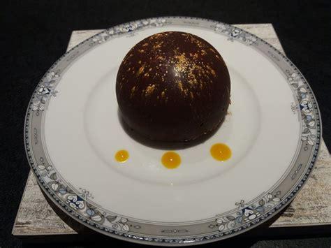 recette dome chocolat noir mousse chocolat blanc coeur