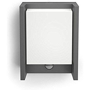 philips mygarden arbour led outdoor wall light with motion