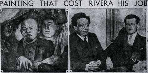diego rivera rockefeller center mural controversy 10 controversial works of that were removed or