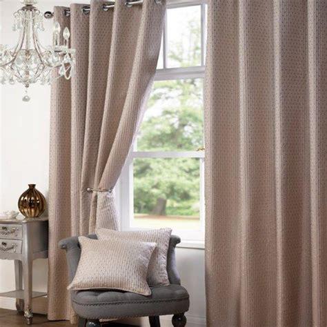 heavy textured satin jacquard eyelet ring top curtains