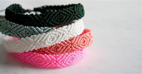 18 Diy Friendship Bracelets That Are Way Cooler Than The