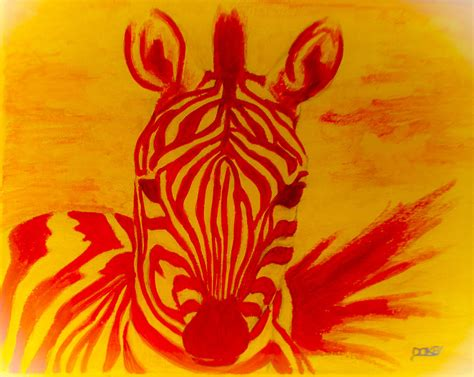 mellow yellow siege social mellow yellow zebra painting by dokey