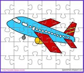 free printable jigsaw puzzle aeroplane jigsaw puzzle