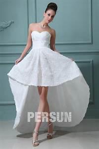 Robe De Mariée Moderne : robe de mari e moderne bustier c ur quip e dune jupe ~ Melissatoandfro.com Idées de Décoration
