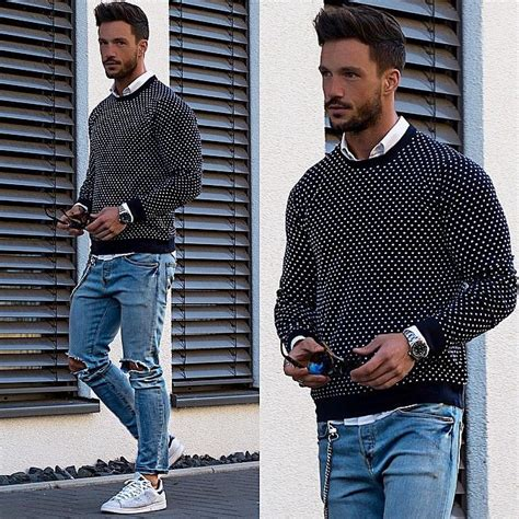 How to Style Adidas Superstar Men-18 Outfits with Adidas Sneakers
