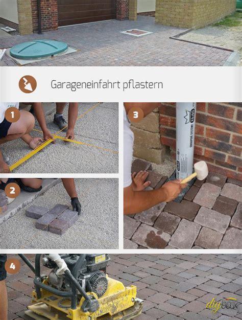 selber pflastern anleitungen garageneinfahrt pflastern anleitung zum betonpflaster verlegen anleitung diybook at