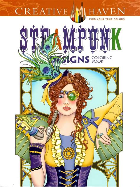 dover creative haven steunk designs adult coloring book