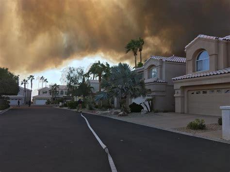 lake havasu brush fire  acres burned  winds pushed