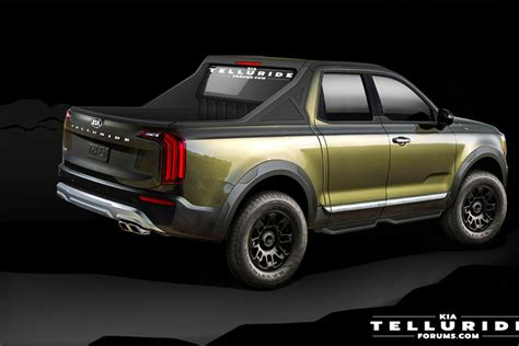 kia pickup truck coming  fight  ford ranger carbuzz