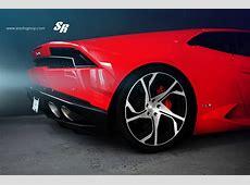 Red Lamborghini Huracan Gets PUR RS12 Wheels autoevolution