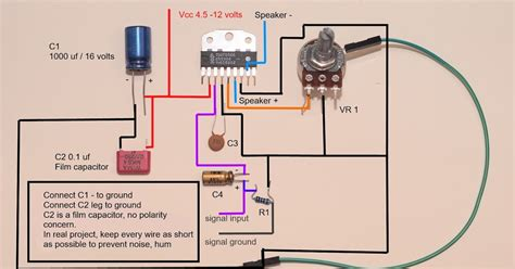 Watts Amplifier Tdaa Wiring Diagram