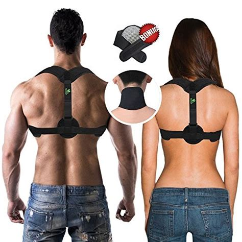 COR619 Back Posture Corrector Brace - For Men and For ...
