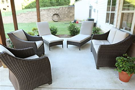 simple outdoor decoration with affordable miami patio