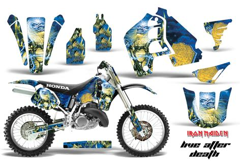 honda cr500 graphic kit stickers and decals honda cr500 graphics 1989 2001
