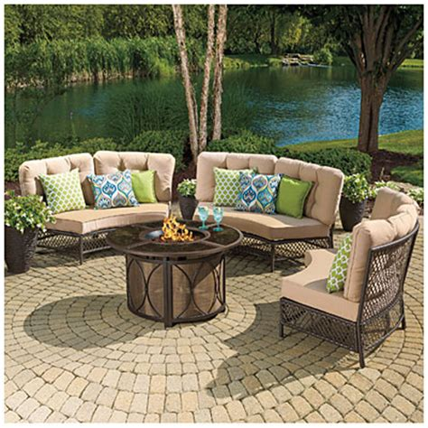Wilson Fisher Patio Furniture Big Lots by Circular Patio Sofa