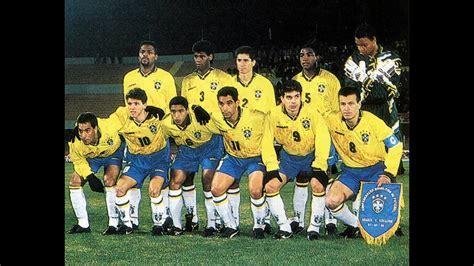 Copa América 1995: Brasil x EUA   YouTube