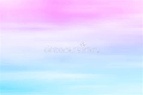 Blue Pink And Purple Wallpaper Blurred Sky At Sunset Pink To Blue Pastel Tones Gradient Stock Photo Image Of Purple Color