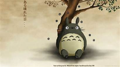 Totoro Neighbor Wallpapers Desktop Backgrounds Iphone Anime